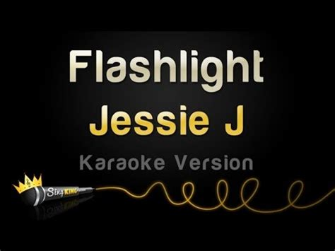 jessie j karaoke jessie j flashlight karaoke version youtube