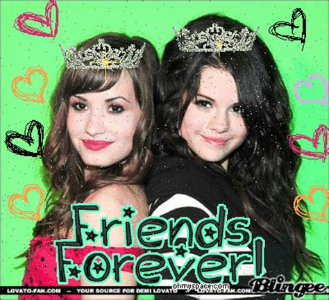 selena gomez and demi lovato best friends forever demi lovato and selena gomez best friends forever