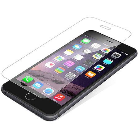 zagg invisibleshield hdx screen protector  apple iphone