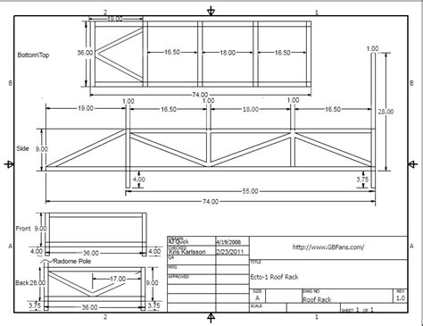 Roof Rack Plans by Roof Rack Plans