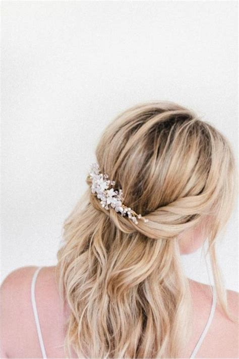 Simple Wedding Hairstyles Half Up by Half Up Hair 17 Half Up Wedding Hairstyles Tania Maras