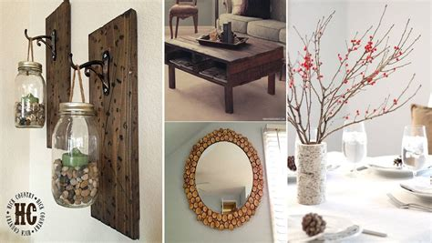creative craft ideas for home decor we have collected a list of 10 of the best diy projects to give your home that rustic look