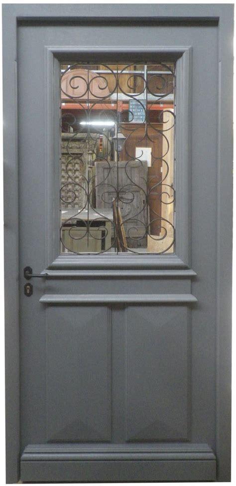 Couleur Porte Interieur 4200 by Porte D Entr 233 E Avec Grille Ancienne Finition Peinture