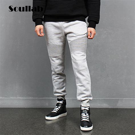aliexpress joggers aliexpress com buy fashion biker joggers slim fit skinny