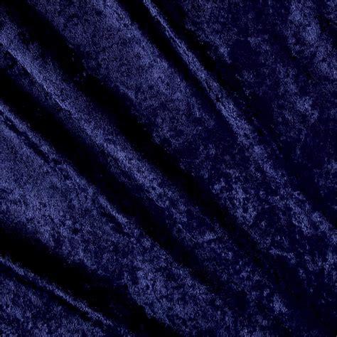 navy velvet upholstery fabric stretch panne velvet velour dark navy discount designer