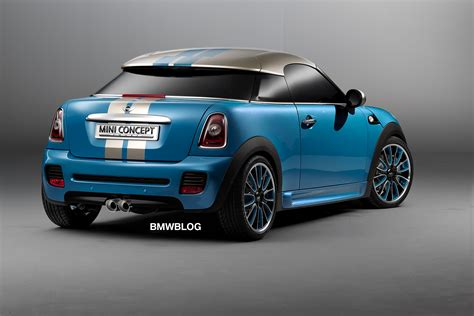 official debut mini coupe concept