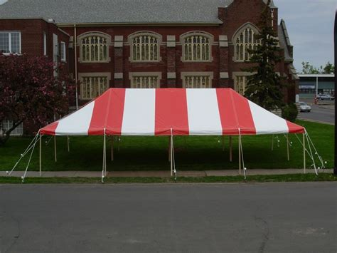 awning rental 20 x 40 commercial pole tent red top only outdoor tents