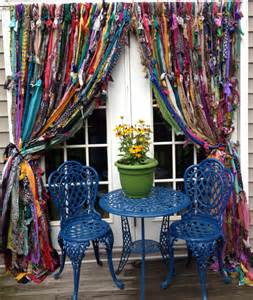bohemian drapes bohemian hippie curtains by melisalanious on etsy