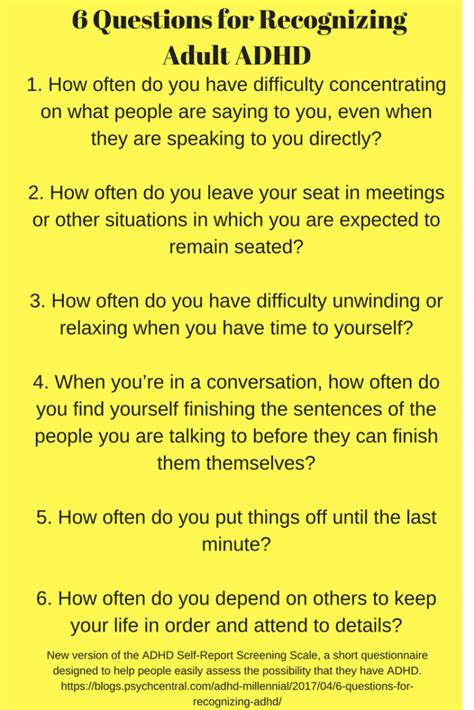 printable add questionnaire for adults adhd screening test adults academywondered gq