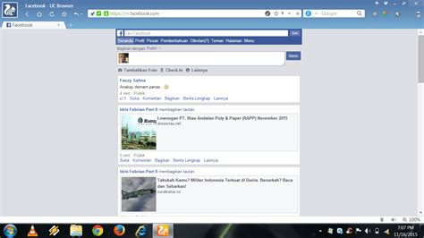 merubah kuota facebook dengan anonytun ferdyansyah senju cara facebook an di komputer hanya