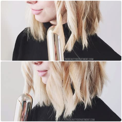 how to style a lob wavy the beauty department your daily dose of pretty how to