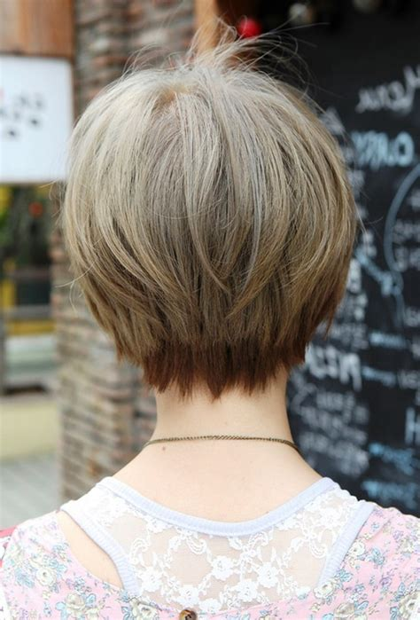 womens short hair cuts front views back view of short haircuts back view of short hairstyles