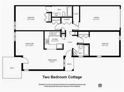 2 bedroom cottage floor plans small 2 bedroom cottage plans ayanahouse