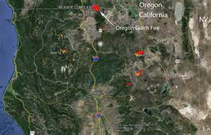 southern california fires today map southern oregon northern california map