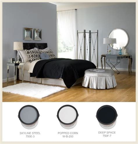 behr bedroom colors behr skyline steel popped corn deep space color