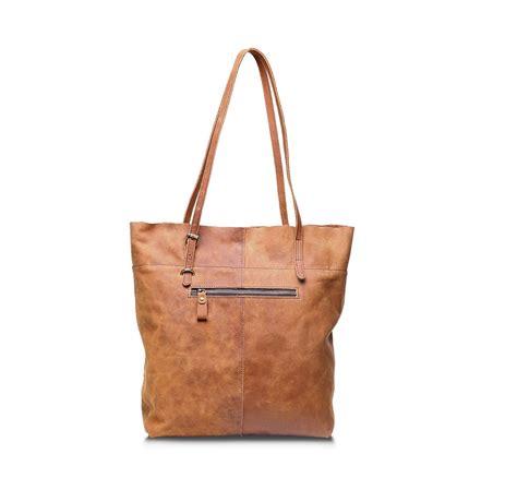 Handmade Tote - handmade vintage leather tote