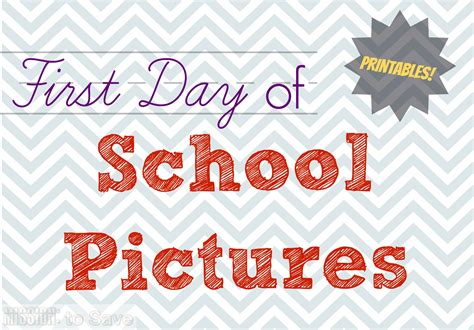 School Supply Giveaway 2017 Columbus Ohio - first day of school pictures printables mission to save