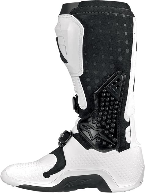 white motorcycle boots alpinestars tech 10 offroad motorcycle boots white black