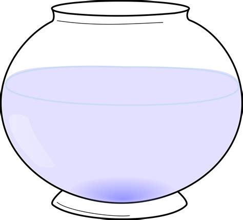 fish bowl coloring page printable free fish bowl clipart pictures clipartix