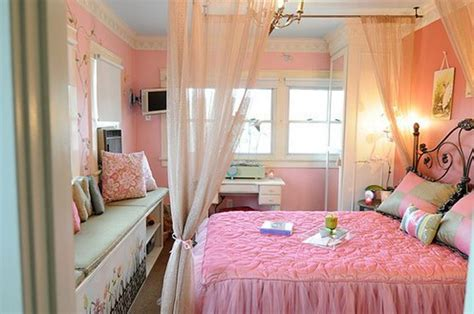 pink colour bedroom decoration stylish girl bedroom decorating with pink color