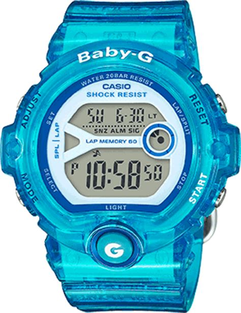 Baby G Casio Dg 120 Blue baby g casio usa