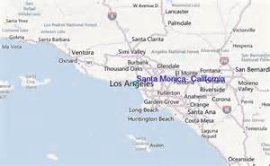 where is santa california on map santa california tide station location guide