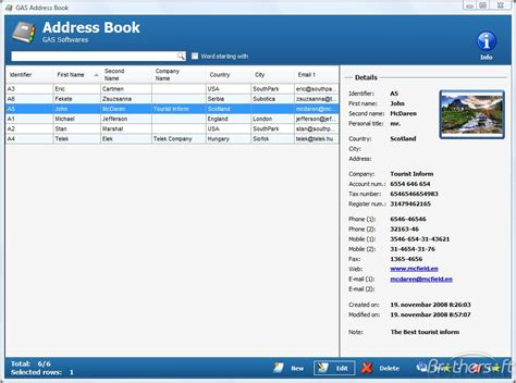 Search Addresses For Free Address Book Images