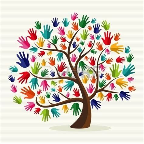 a pattern language which generates multi service centers 25 best ideas about hand print tree on pinterest family