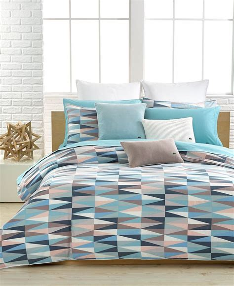 lacoste malmi comforter and duvet cover sets