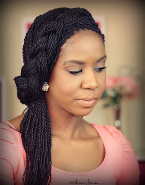 Wedding Hairstyles For Box Braids by Box Braid Hairstyles How To Make Them Bows