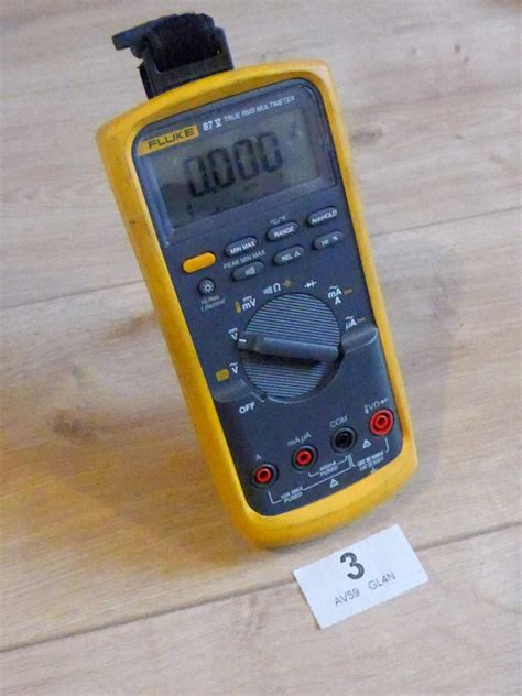 Multimeter Digital Fluke 87v fluke 87v true rms digital multimeter with carry