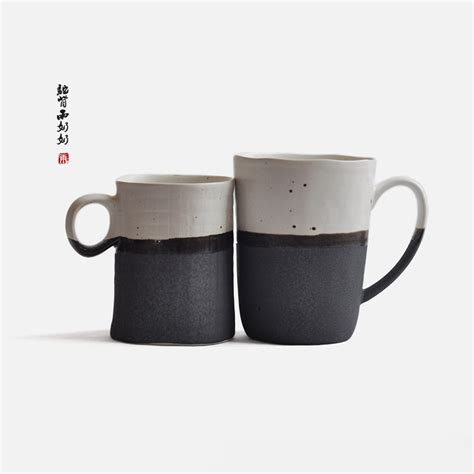 japanese coffee mugs japanese style ceramic cups coffee cup coarse pottery milk cup tea mug inmugs from home