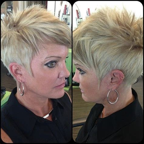 edgy short haircuts for women over 50 short spikey hairstyles for women over 40 50 shorts