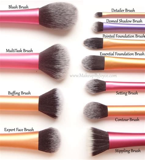 beauty review real techniques make up brushes the red style makeupbyjoyce review comparison real techniques