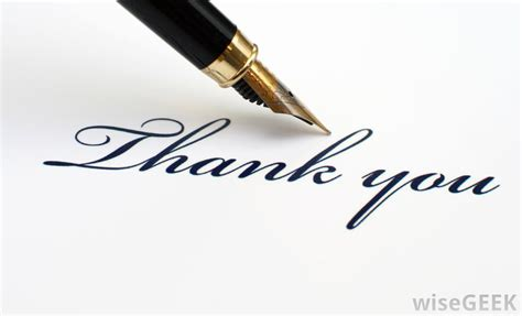 When Should You Send Thank You Cards For Wedding Gifts - should i send a thank you card after a job interview