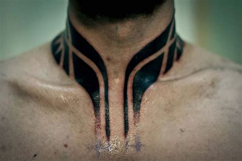 cool neck tattoos 31 cool hawaiian tribal neck tattoos