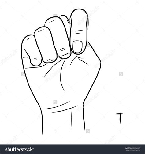 in sign language letter t in sign language letter of recommendation