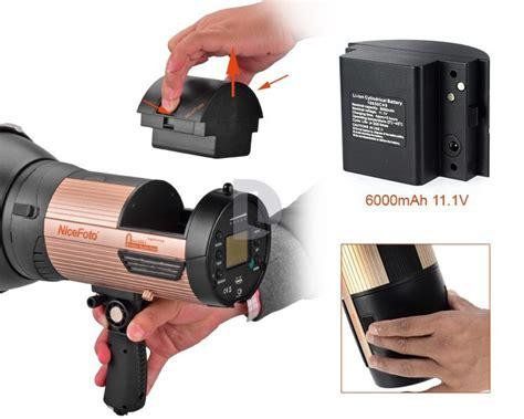 nicefoto 680w portable wireless led photo n flash