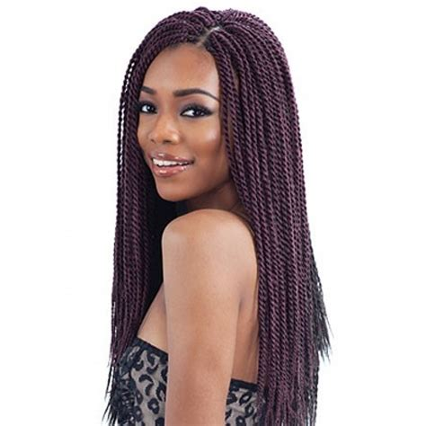 senegalese twist with brown in the front and black in the back freetress braids senegalese twist small braided weave