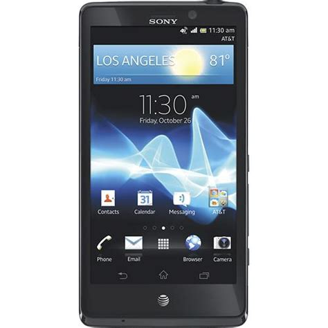 android phones at t sony xperia tl high end nfc 4g lte android phone att excellent condition used cell phones