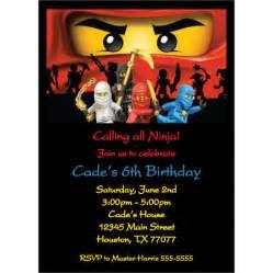 ninjago birthday invitations gangcraft net