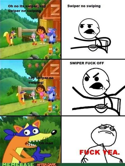 Swiper The Fox Meme - swiper