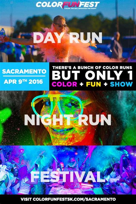 sacramento color run 17 best images about bay area living on glow