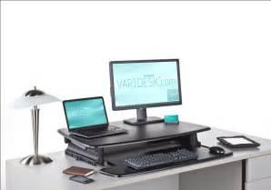 Adjustable Standing Desk by Varidesk Dual Black Placed 16 Varidesk Standing Desk Blog
