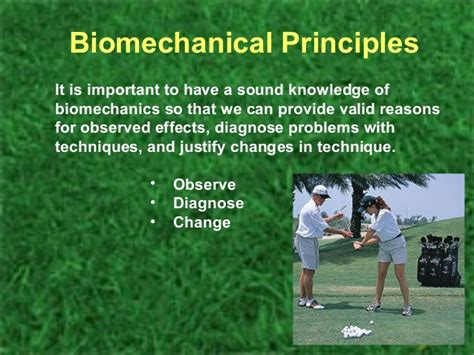 biomechanics of golf swing biomechanics and golf