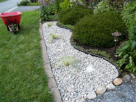 White Rocks For Landscaping Landscaping Pinterest River Rocks For Landscaping