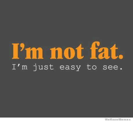 I M Fat Meme - im not fat im just weknowmemes