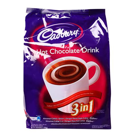 Cadbury 3in 1 by Cadbury 3in1 Chocolate Drink 30g From Redmart
