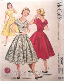 my vintage pattern collection 1950s custom style
