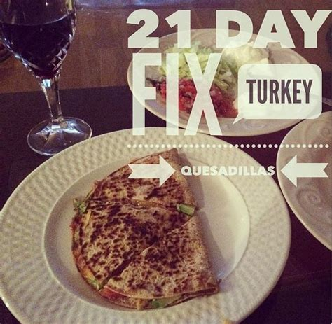will eat onion on thanksgiving day but why onion because hatsune 21 day fix turkey queaadillas food pinterest 21 day